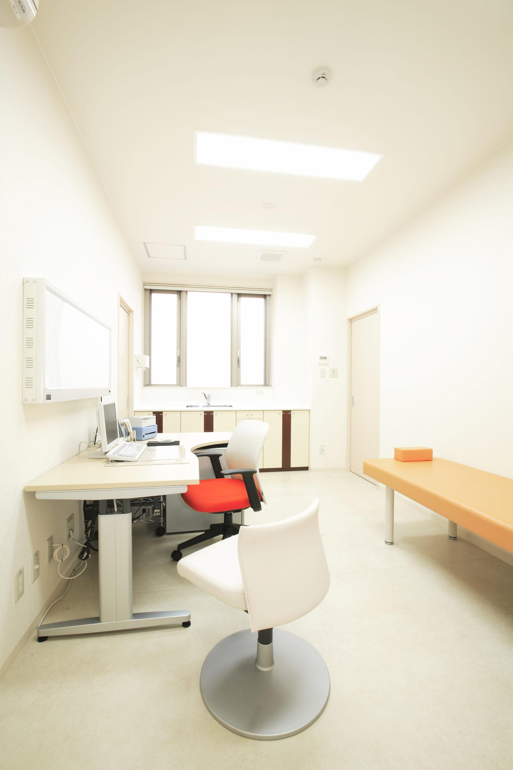 砂山内科クリニック 診察室