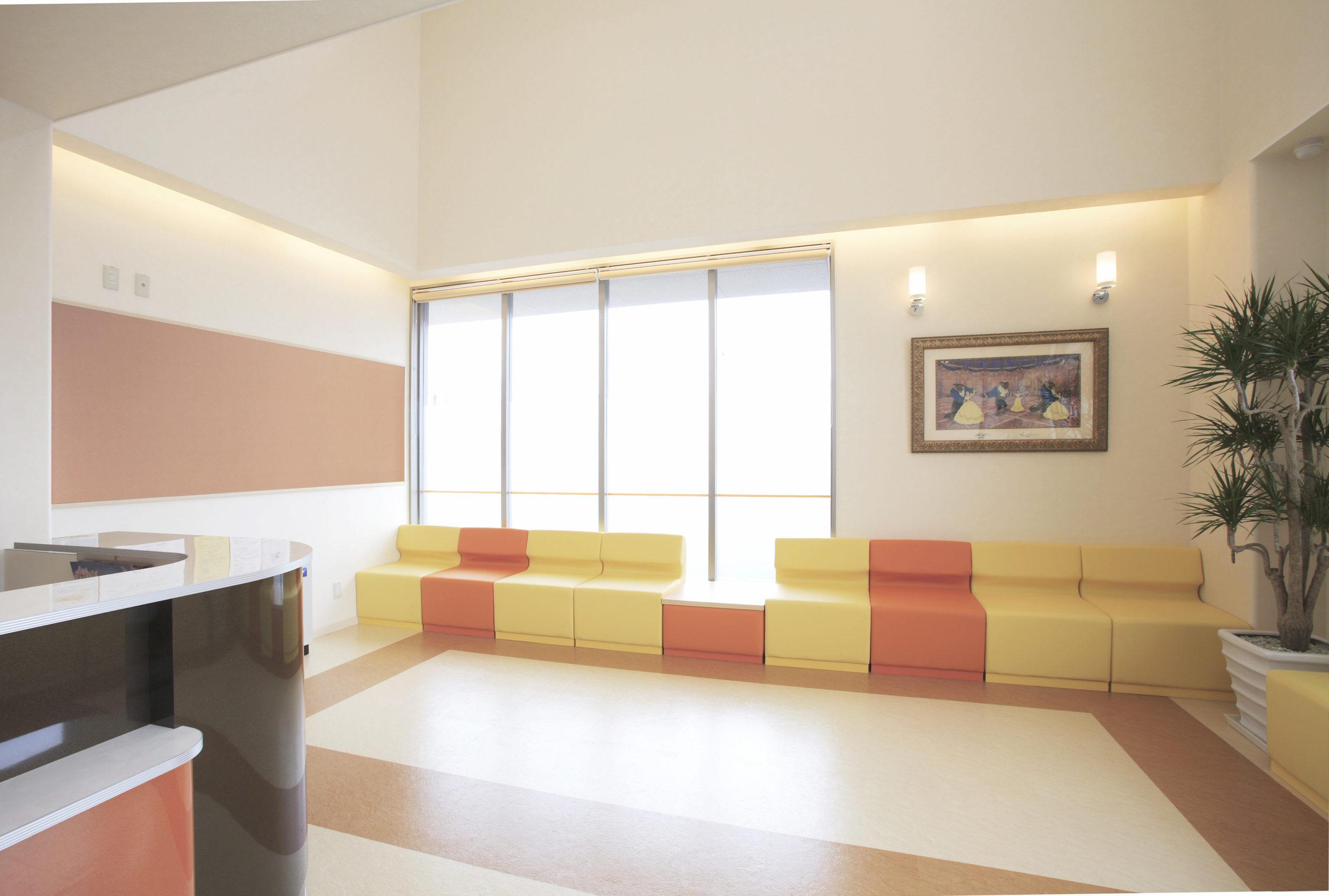 砂山内科クリニック 待合室